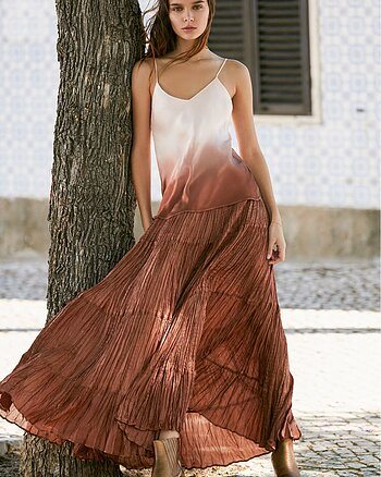 Bactriane Skirt Nude from Mes Demoiselles