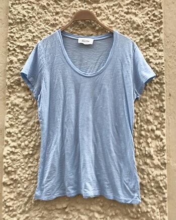 Jacksonville T-shirt Kort ärm Blue sky från American Vintage