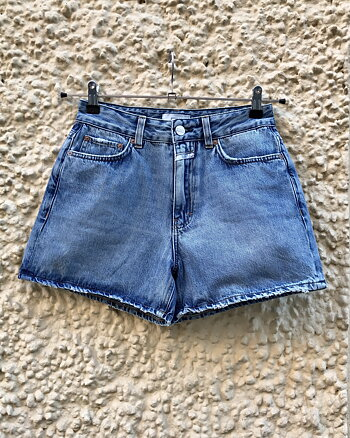 Azra Denim Shorts Mid Blue från Closed