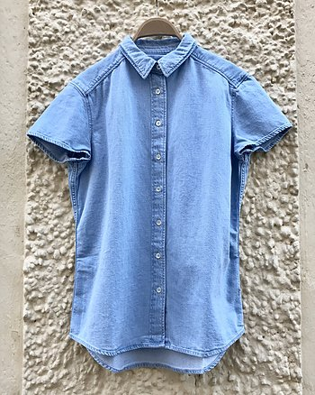 Owen Organic Denim Shirt från Closed
