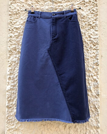 Shia Denim patch skirt from Baum und Pferdgarten