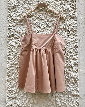 Ebba Papery String Top Pink Sand from Rabens Saloner