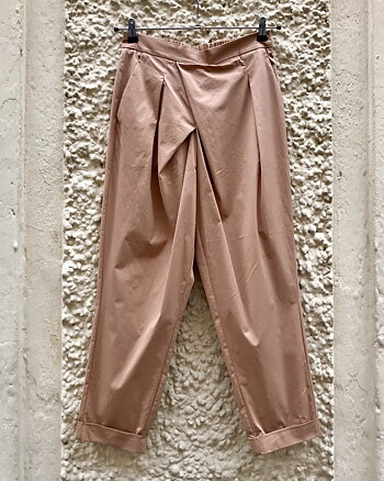 Dolly Papery Easy Fit Pant Pink Sand from Rabens Saloner