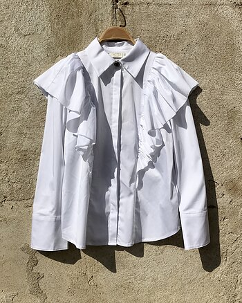 Oakley blouse white from Notes du Nord
