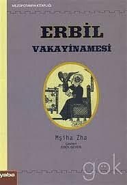 Erbil Vakayinamesi