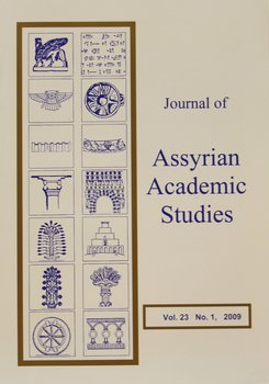 Journal of Assyrian Academic Studies Nr 1 - 2010