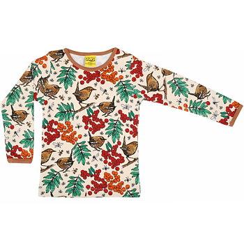 Långärmad tröja med rönnbär - Duns