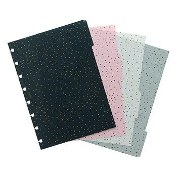 Avdelare Confetti - Notebook A5