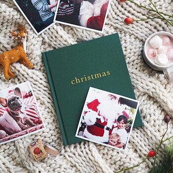 Bok Christmas Grön
