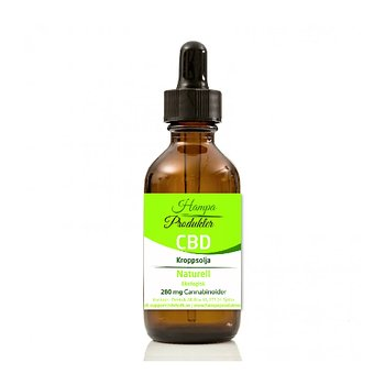 Kroppsolja CBD 3% Naturell 10ml