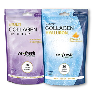 Collagen Hyaluron och Multi Collagen till paketpris