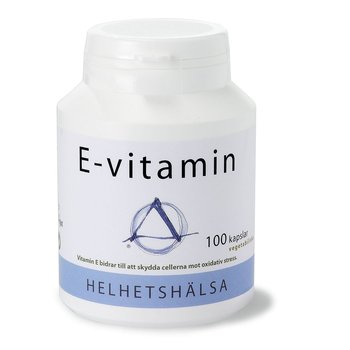 E-vitamin 40 mg, 100 kapslar