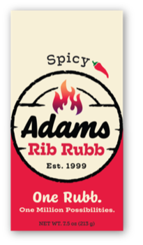 Adams Rib Rubb - Spicy Rubb