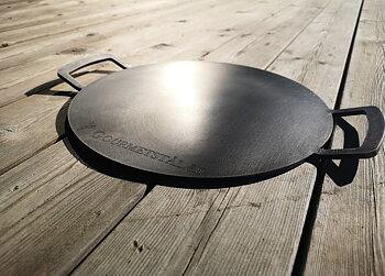 Gourmetstål - Rund Med Grepp - 33cm