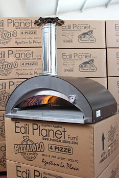 Forno Allegro By Edil Planet - Pizzaiolo 4 Pizze Gasol