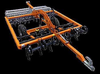Ridbaneharv ATV Chapman AH200 med elektrisk transportläge (fibersand, sand, kvarts, ) (Fri frakt)
