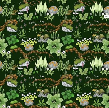 Skogen grön