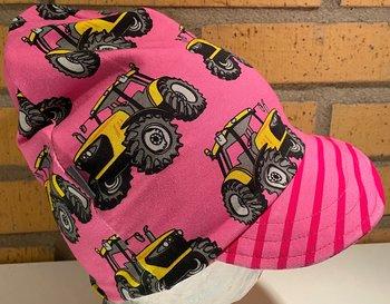 Meps Traktor rosa/gul,  50/52