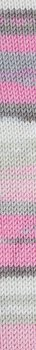 Katia Merino Baby Plus - 200 rosa och stengrå