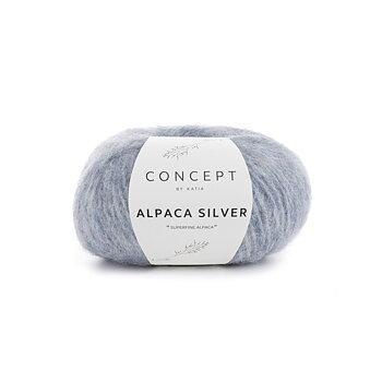 Concept by Katia - Alpaca Silver 253 pastellblå