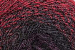 Katia Infinity Shawl 305 rödbrun - svart - lila