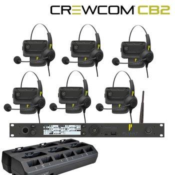 Pliant Technologies - CB2 6 x Radio pack System