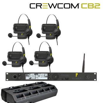 Pliant Technologies - CB2 4 x Radio pack System