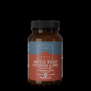 Terranova Nettle Root, Lycopene & Zinc 50kaps