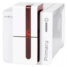 Evolis Primacy, single sided, USB & Ethernet, RFID, Röd front