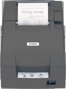 Epson TM-U220B, RS232, cutter, black