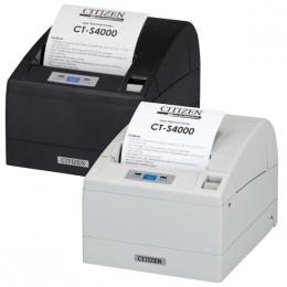 Citizen CT-S4000/L, USB, LPT, 8 dots/mm (203 dpi), cutter, white