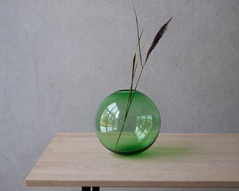TÅNGEN -Mossgrön glasklot 23 cm