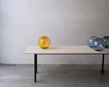 TÅNGEN  Apelsin glasklot 30 cm
