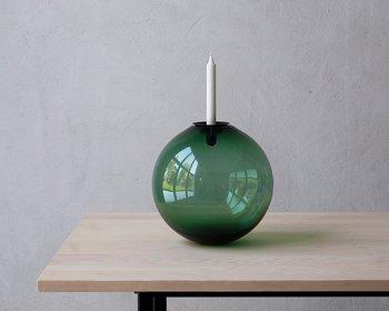 TÅNGEN -Grangrön glasklot 30 cm