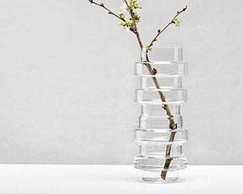 Munblåst glasvas från SMAELTA - VAKO Träd 290