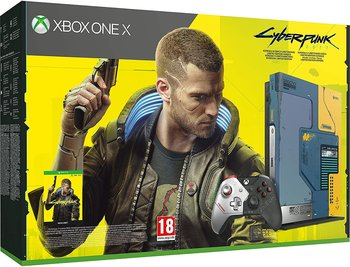 Xbox One X 1TB Cyberpunk 2077 Limited Edition Bundle