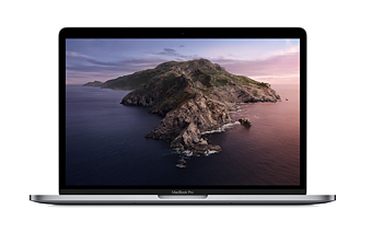 "Apple MacBook Pro (2019) - 1,4GHz QC 8GB 128GB 13"" - Space Grey"