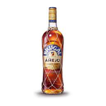 Brugal Anejo Dark Rum, 38%, 70 cl