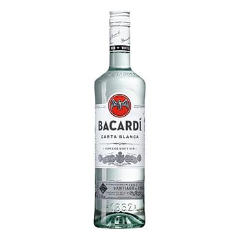 Bacardi Carta Blanca, 37,5%, 70 cl