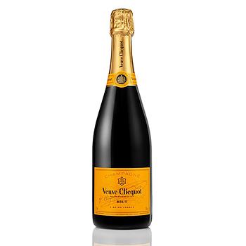 Veuve Cliquot Brut (Gula Änkan), mousserande vitt vin, 12%, 75 cl