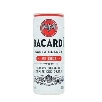 Bacardi & Cola, 5%, 24 x 25 cl  (burkar)