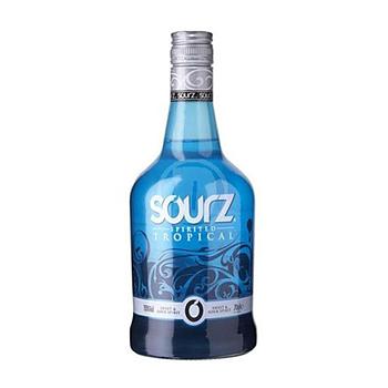 Sourz Tropical Blue, 15%, 70 cl