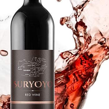 Suryoyo rött vin, 75 cl