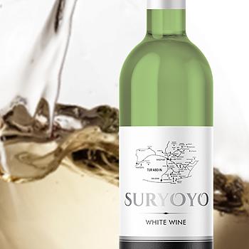 Suryoyo vitt vin, 75 cl