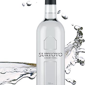 Suryoyo Luxury Vodka, 40%, 70 cl