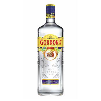 Gordons London Dry Gin, 37,5%, 100 cl