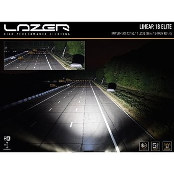 Lazer LED-ramp Linear 18 Elite (E-märkt)