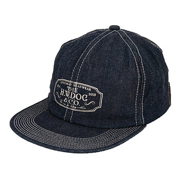 The H.W. Dog & Co - Logo Denim Trucker Cap