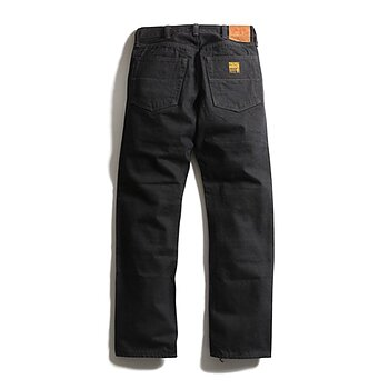 Trophy Clothing - 1908 W Knee Narrow Blackie Denim