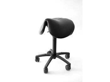 KENSON Flexsadel balansstol med läder